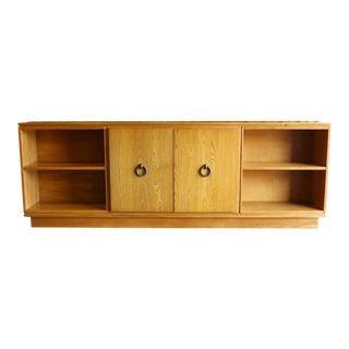 Oak Cabinet by Paul Laszlo For Sale