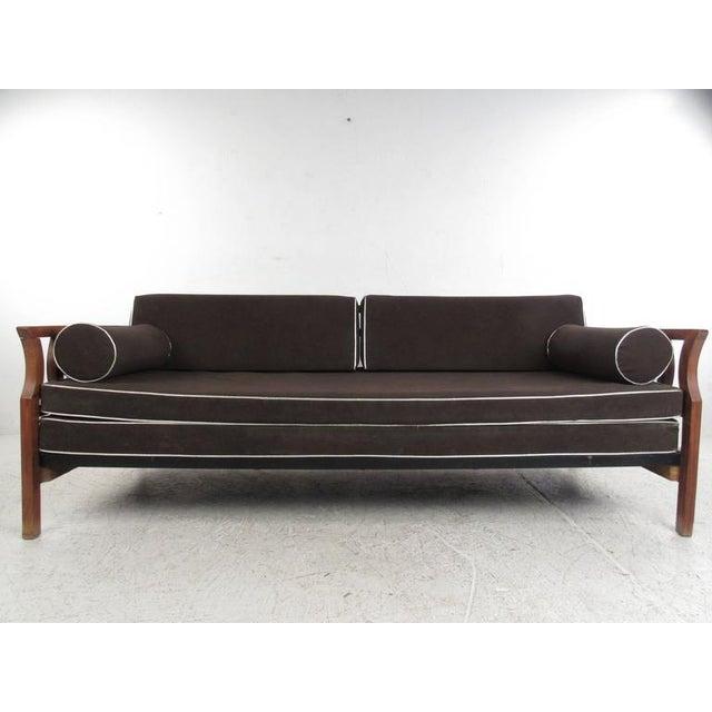 Vintage Modern Sculptural Sofa or Day Bed - Image 11 of 11