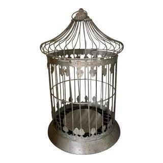 Metal Vintage Birdcage For Sale