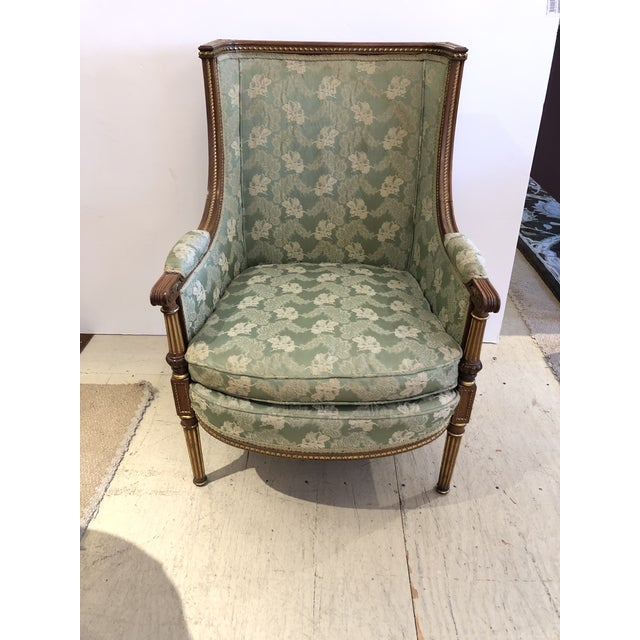 Ladies French Bergère Armchair For Sale - Image 13 of 13