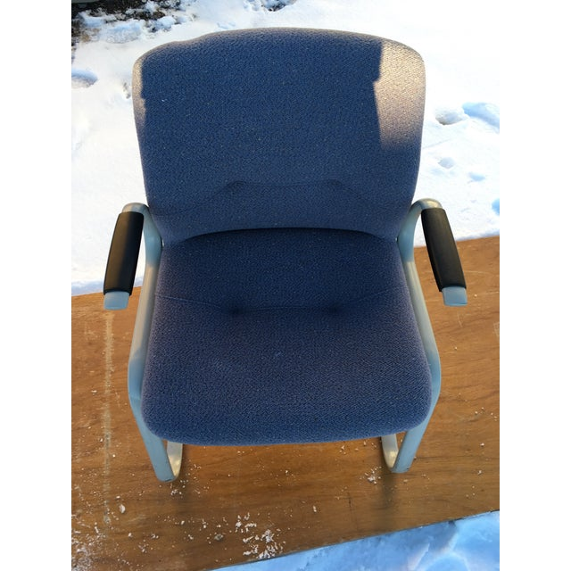 1980s 1980s Cantilever Armchair by Steelcase For Sale - Image 5 of 12