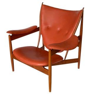 Finn Juhl Chieftain Chair in Teak by Niels Roth Andersen For Sale