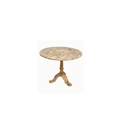 Marble Top Gueridon Center Table For Sale - Image 12 of 12
