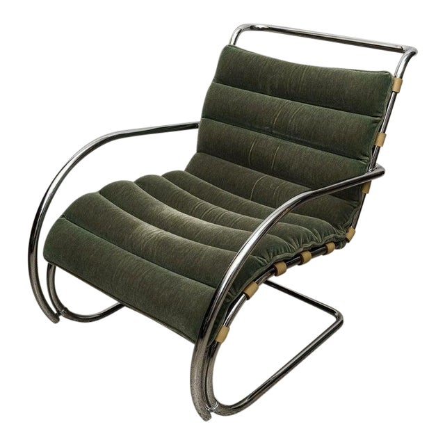 Mies Van Der Rohe 1927 Design Style Lounge Chair - 5 Are Available For Sale
