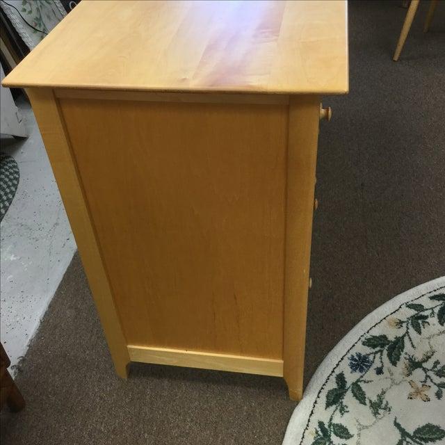 Copeland Cherry & Maple Wood Dresser - Image 4 of 5