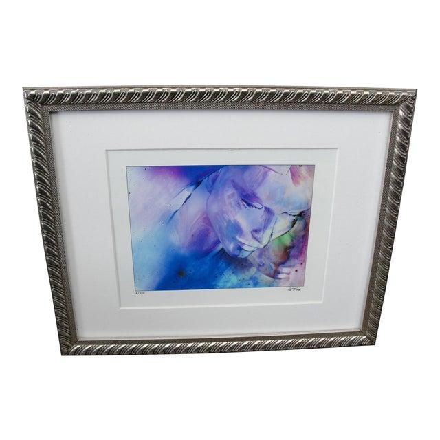 "Al Foxx Impressionist Limited Edition ""Woman"" Print For Sale"
