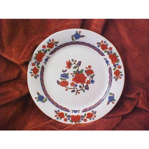 Asian Crown Ming Old Imari Pattern China (3 Piece Settings) For Sale - Image 3 of 8