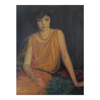 Portrait of a Flapper For Sale