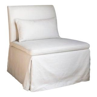 Maxine Snider Inc. Salon Slipper Chair For Sale