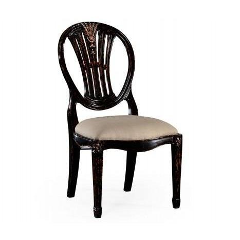 Jonathan Charles Hepplewhite Wheatsheaf Side Chair - Image 4 of 5