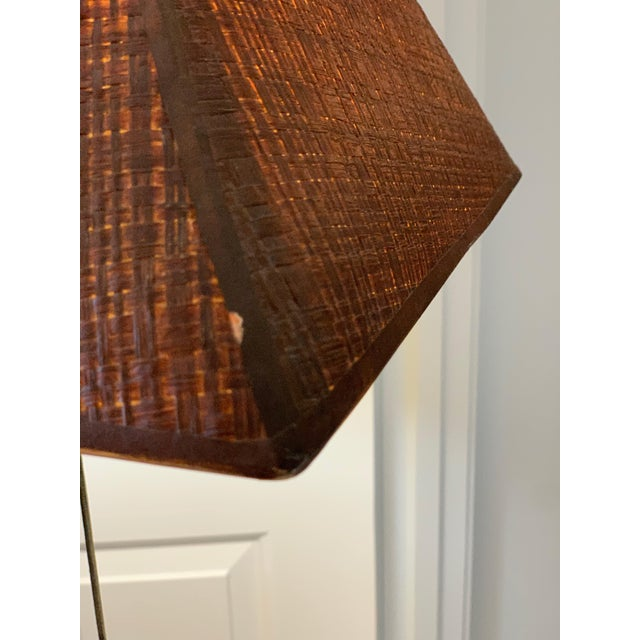 Bronze Leaf and Acorn Motif Standing Lamp For Sale In Los Angeles - Image 6 of 11