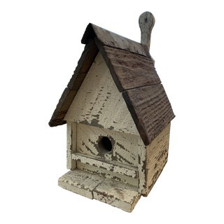 Vintage Rustic Style Birdhouse For Sale