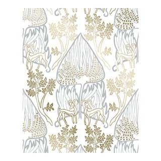 Arabian Nights Gold Wallpaper - 1 Double Roll For Sale