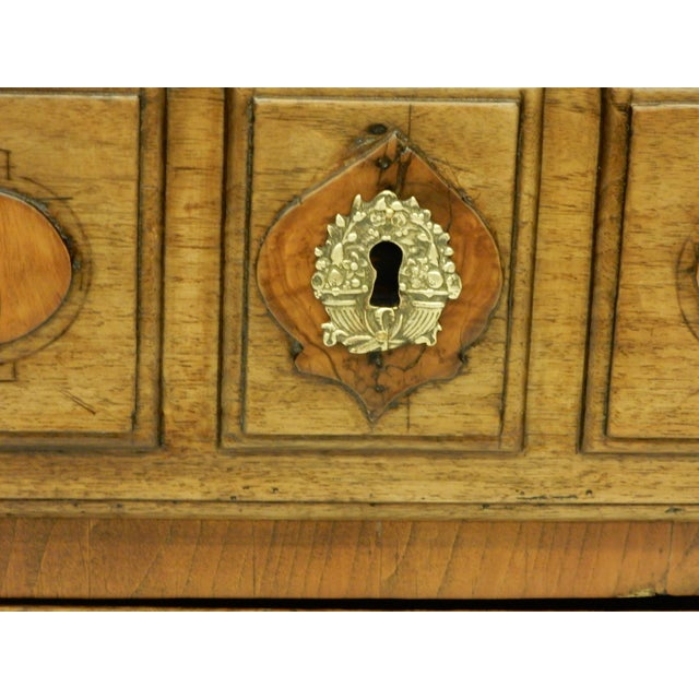 Early 19th Century Early Italian Genoese Walnut and Olivewood 19th c.commode For Sale - Image 5 of 8