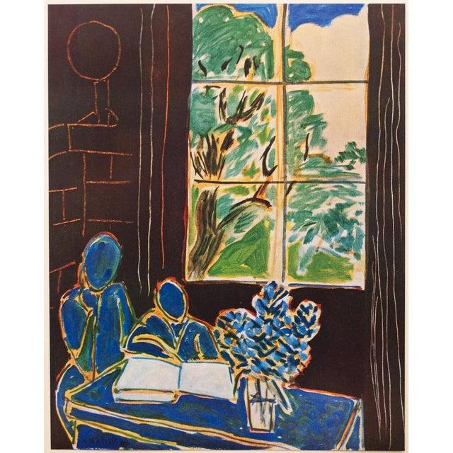 1947 Henri Matisse, Original Period Interieur Lithograph For Sale In Dallas - Image 6 of 8