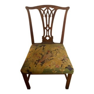 Late 18th Century Vintage Chippendale Style Chair For Sale