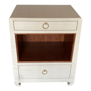 Bungalow 5 Ming White 2 Drawer Nighstand For Sale