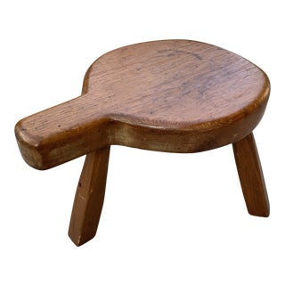 Primative Milking Stool For Sale