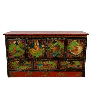 20th Century Tibetan Altar Prayer/Coffee Table For Sale