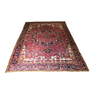 Early 20th Century Antique Anatolian Turkish Rug - 10′ × 13′6″