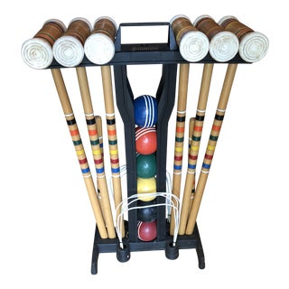 Franklin Traditional Croquet Set For Sale