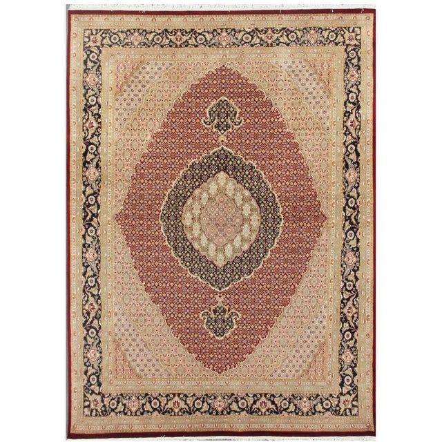 Tabriz Collection Traditional Rug - 8'x10' - Image 1 of 1