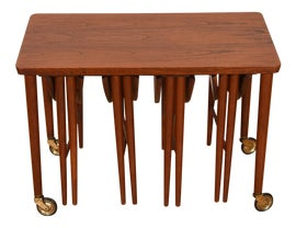 Image of Danish Modern Nesting Tables