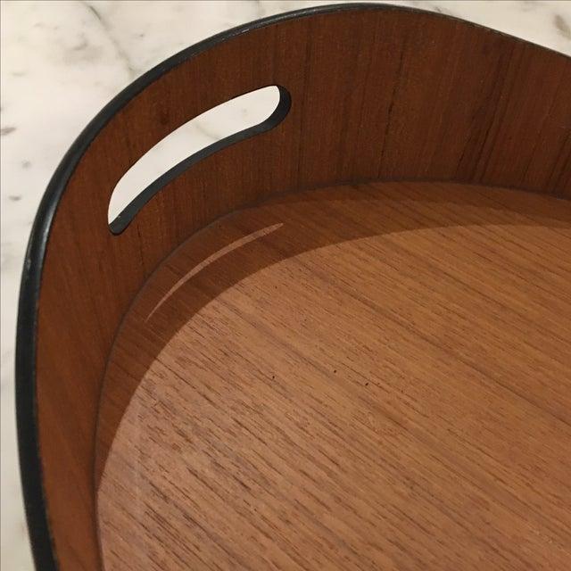Teak Oval Tray - Image 4 of 5
