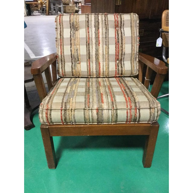Mid 20th Century Mid-Century Solid Cherry Side Chair For Sale - Image 5 of 6
