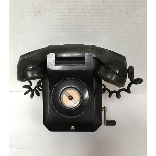 Stromberg Carlson Black Bakelite Crank Telephone - Image 2 of 8