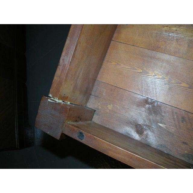 Antique Primitive Cherry Desk - Image 8 of 8