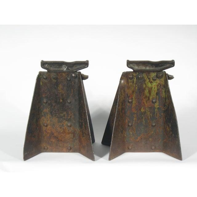 Vintage Hi-Low Steel Horses - Pair - Image 3 of 4