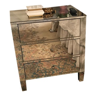 Mirrored Nightstand by Bernhardt For Sale