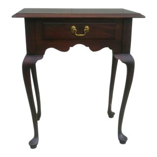 Georgian Court Ethan Allen Cherrywood Side Table