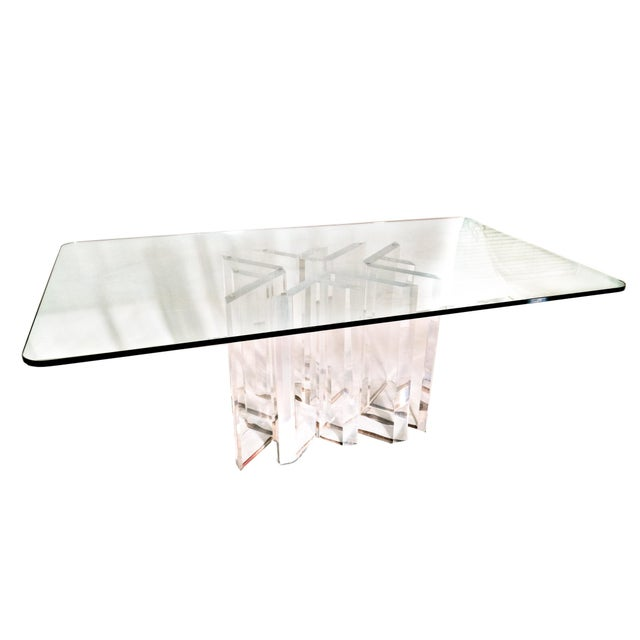 "Custom Jeffrey Bigelow ""Star"" Dining Room Table - Image 2 of 5"