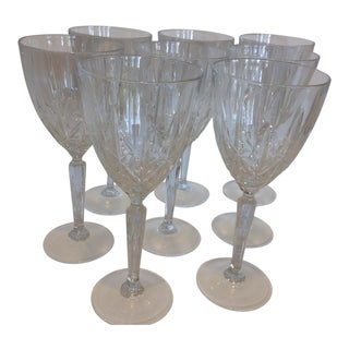 Waterford Cut And Polished Crystal Goblets - Set of 8