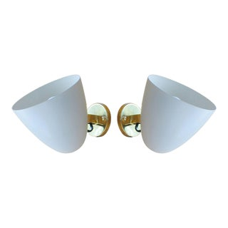 Gino Sarfatti Arredoluce Pivot Sconces - a Pair For Sale