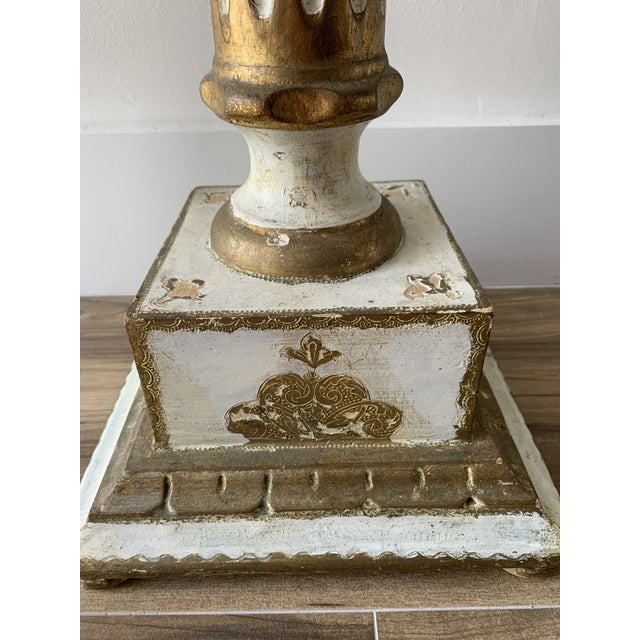 Vintage Louis Style French Classical Display Pedestal For Sale - Image 4 of 13