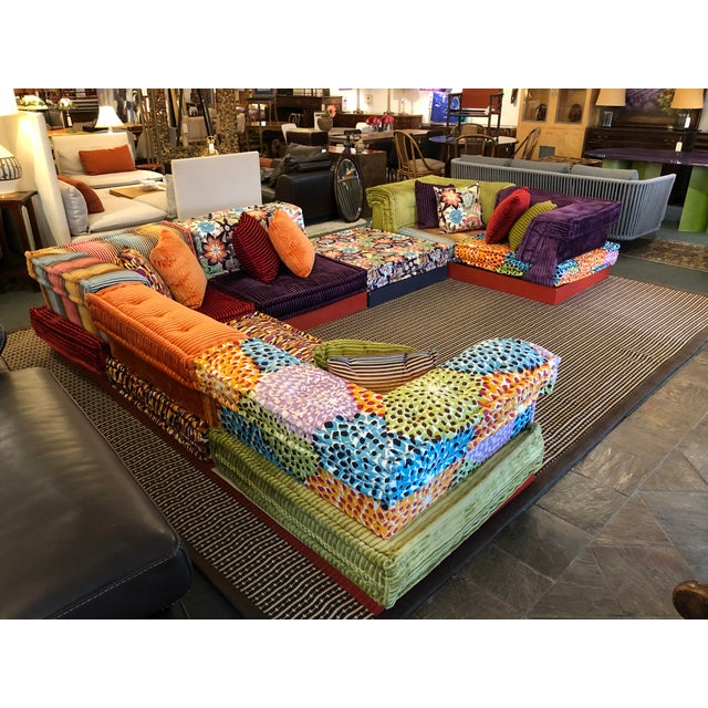 Missoni Mah Jong Sectional by Roche Bobois For Sale - Image 13 of 13