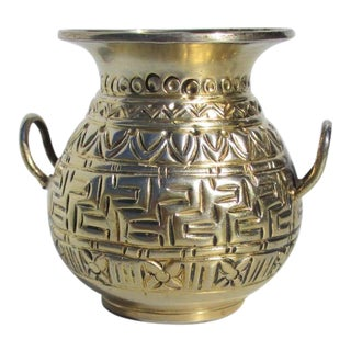 Zolotas Minature Silver Ancient Vase For Sale