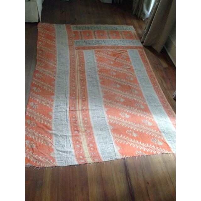 Vintage Indian Kantha Textile - Image 2 of 7