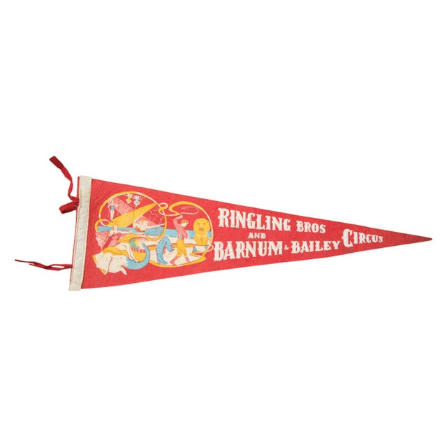 Ringling Bros and Barnum & Bailey Circus Flet Flag - Image 1 of 2