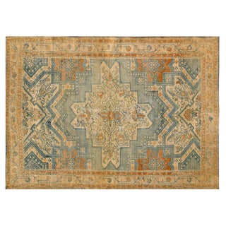 1920s Cotton Agra Rug - 4′3″ × 6′ For Sale