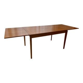 Mid-Century Modern Vejle Stole Møbelfabrik Teak Extension Dining Table For Sale