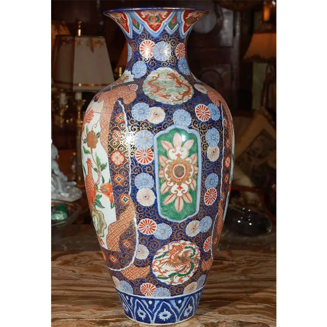 Late 19th Century 19th Century Japanese Imari Vase For Sale - Image 5 of 10