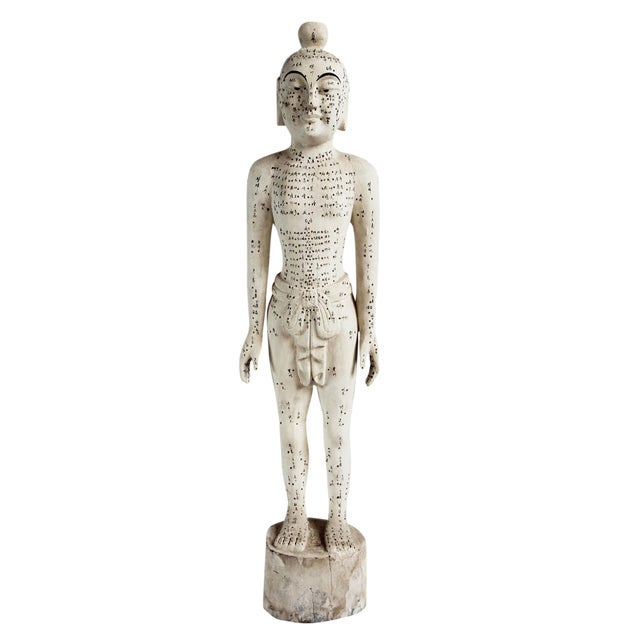Chinese Acupuncture Statue XL Male - Image 1 of 5