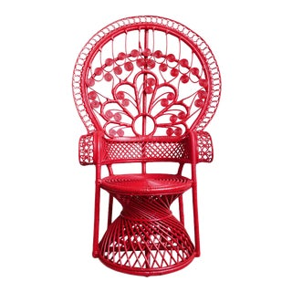 Tomato Bunga Peacock Chair For Sale