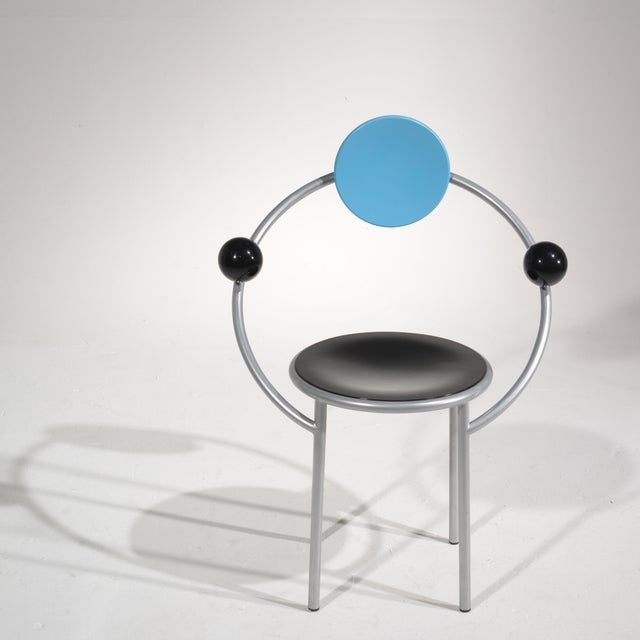 Michele De Lucchi First Chair for Memphis, Milano For Sale - Image 10 of 13