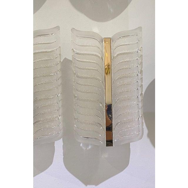 Transparent Vintage Art Deco Egyptian Revival Sconces - a Set of 4 For Sale - Image 8 of 12