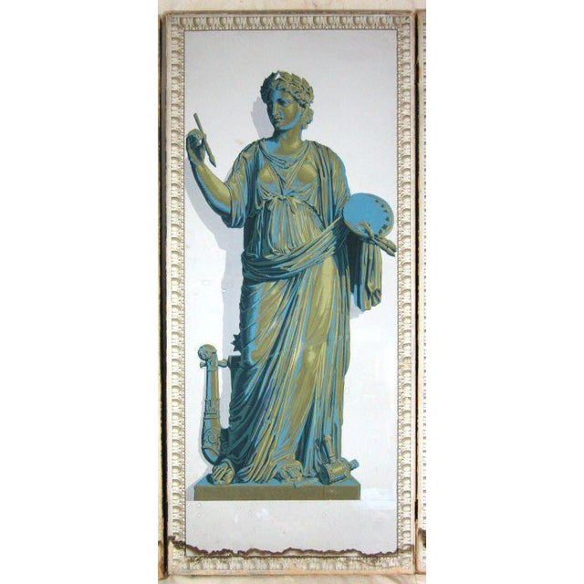 Greek Goddesses Wallpaper Panels - Set of 4 For Sale - Image 4 of 11